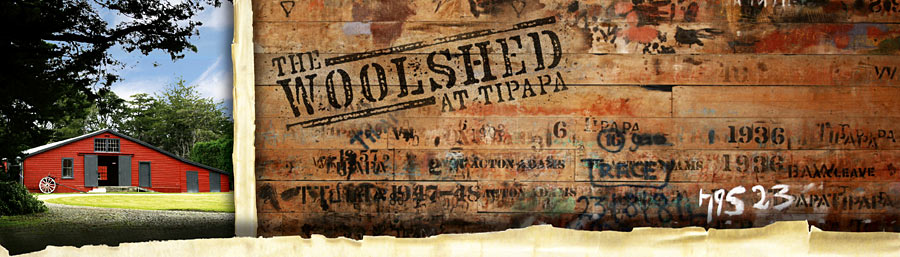 The Woolshed at Tipapa
